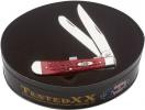 Case DK RED BONE TRAPPER/GIFT TIN - 70127