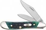 Case Slanted Bolster Hunter Green Bone - Standard Jig Peanut (6220 SS) - 70490