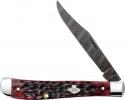 Case Crimson Bone - Peach Seed Jig Slim Line Trapper (61048 DEAM) - 74173