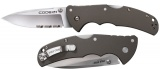 Cold Steel 58TPSH Code-4 Spear Point Serrated Knife
