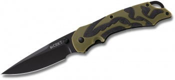 Columbia River Moxie Green/black knives 1101
