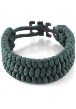 Columbia River Paracord Bracelet Adj Green knives 9400G