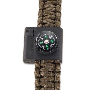 Columbia River Bracelet Compass/ Fire Startr knives 9701