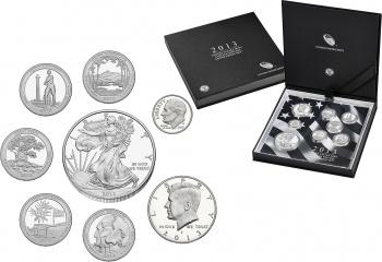 2013 U.S. Mint Limited Edition Silver Proof Set