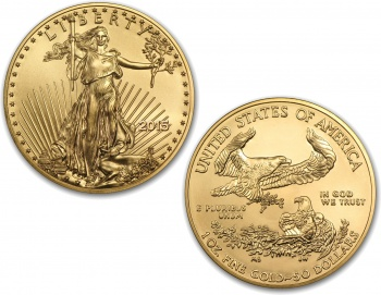 2015 1oz Gold American Eagle Coin
