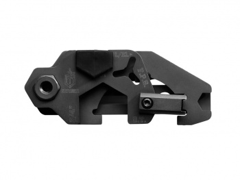 Gerber Short Stack AR Tool GR31-002997. This is an AR-15 maintenance tool that has 15 functions. It fits inside the magpul moe and miad pistol grips. Closed length is 2.9 inches and has a black oxide finish.