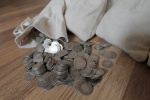 Survival Money - Lot of five(5) 1892-1916 90% Circulated Silver Barber Dimes