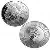 2011 New Zealand Silver Fiji Taku 5 oz Coin .999 Fine