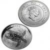 2012 New Zealand Silver Fiji Taku 1 oz Coin .999 Fine