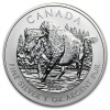 2011 Canadian Silver Wood Bison 1 oz Coin .9999 Fine