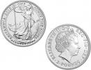 2013 Silver Britannia 1 oz Coin