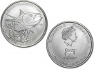 2014 Silver Tokelau Yellowfin Tuna 1 oz Coin