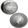 2012 New Zealand Silver Fiji Taku 5 oz Coin .999 Fine