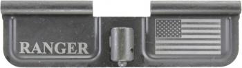 Ranger / USA Flag AR-15 Laser Engraved Ejection Port Dust Cover