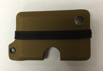 Concealment Commander Coyote Brown Kydex Wallet holsters 300CB