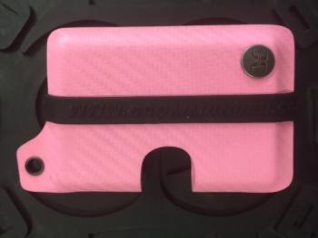 Concealment Commander Cfiber Pink Kydex Wallet holsters 300CFPK
