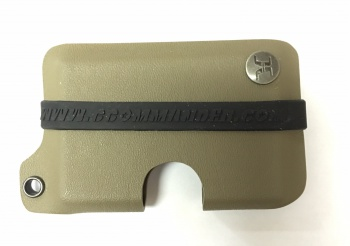 Concealment Commander Flat Dark Earth Kydex Wallet holsters 300FDE