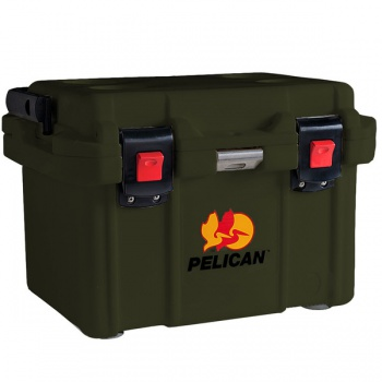 Pelican 20 Quart Od Green Cooler cases 05040