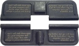 Double Sided Ezekiel 25:17 Brother's Keeper AR-15 Laser Engraved Ejection Port Dust Cover