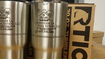 RTIC 20 oz. Tumber Stainless Steel with Logo Laser Engraving RTIC_TUMLER_20OZ_LOGO_ENGRAVING