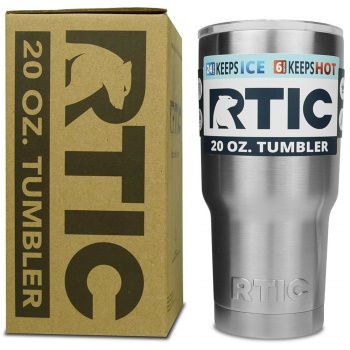 RTIC 20 oz. Tumber Stainless Steel with Laser Engraving Option RTIC_TUMLER_20OZ