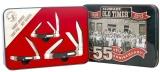 Schrade 55th Anniversary 3 Knife Set w/ Sawcut Delrin Handles