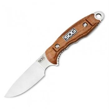 SOG Huntspoint Skinn Wood Handl knives HT012L-CP