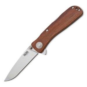 SOG Twitch Ii Wood Handle knives TWI17-CP