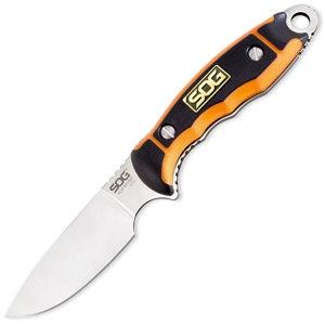 SOG Huntspoint Skin S30v Grn Hdl knives HT014L-CP