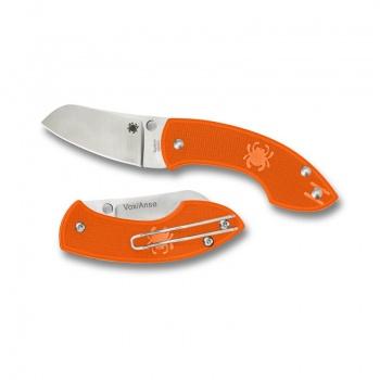 Spyderco Pingo--Orange FRN Handle/Plain Edge SPC163POR