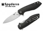 Spyderco Positron Carbon Fiber Plain C195CFP