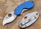 Spyderco CRICKET BLUE GLASS FIBER PLN - C29GFBLP