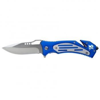Swiss Tech Folding Rescue Knife Blue knives 41100