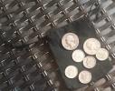 $1 Face Value of 90% Silver Coins Washington Quarters, Roosevelt Dimes, Mercury Dimes