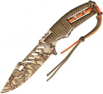 American Hunter Camo Fixed Blade knives BRK-AH006