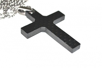 Bastion Carbon Fiber Cross Pendant knives BRK-BSTN204