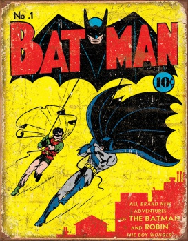 Tin Signs Batman #1 Cover BRK-TSN1966