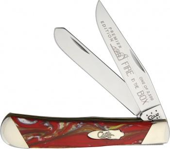 Case Cutlery Trapper Fire In The Box BRK-CAS9254FIB