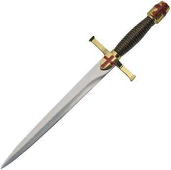 China Made Gold Crusader Dagger knives BRK-CN211474
