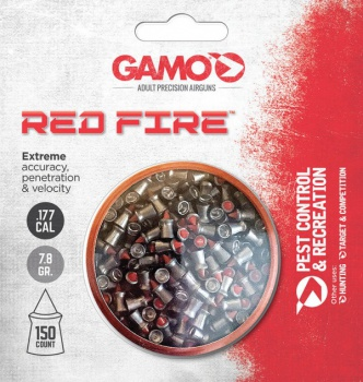 Gamo Red Fire Pellets .177 150ct BRK-GAM70154