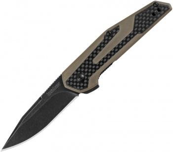Kershaw Fraxion Linerlock Tan knives BRK-KS1160TANBW