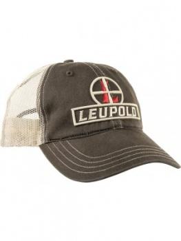 Leupold Soft Trucker Hat Brown BRK-LP170579