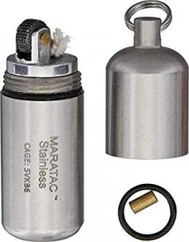 Maratac Stainless Peanut Lighter BRK-MARD27