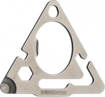 Munkees Stainless Steel Triangle Tool BRK-MUNK2505