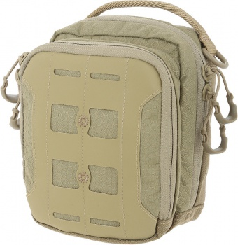 Maxpedition Agr Accordion Pouch Tan gear bags BRK-MXAUPTAN
