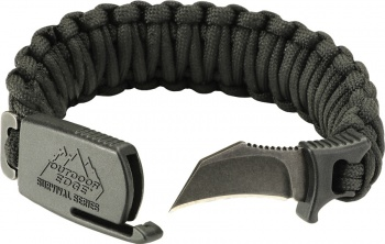 Outdoor Edge Paraclaw Black Large knives BRK-OEPCK90D
