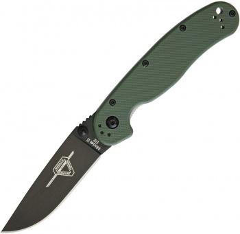 Ontario Rat Ii Linerlock Od Green D2 knives BRK-ON8830OD