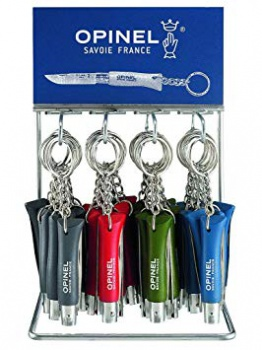 Opinel 36 Piece Keyring Display knives BRK-OP01743