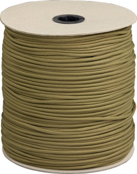 Marbles Parachute Cord Coyote 1000 Ft knives BRK-RG1024S