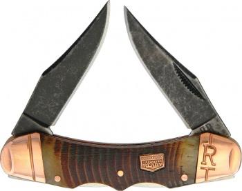 Rough Ryder Backwoods Dual Lockback knives BRK-RR1842